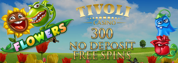 TivoliCasino - claim your NetEnt 300 No Deposit Free Spins Today
